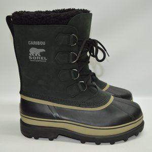 Sorel Men's Caribou Waterproof Snow Rain Boots 9